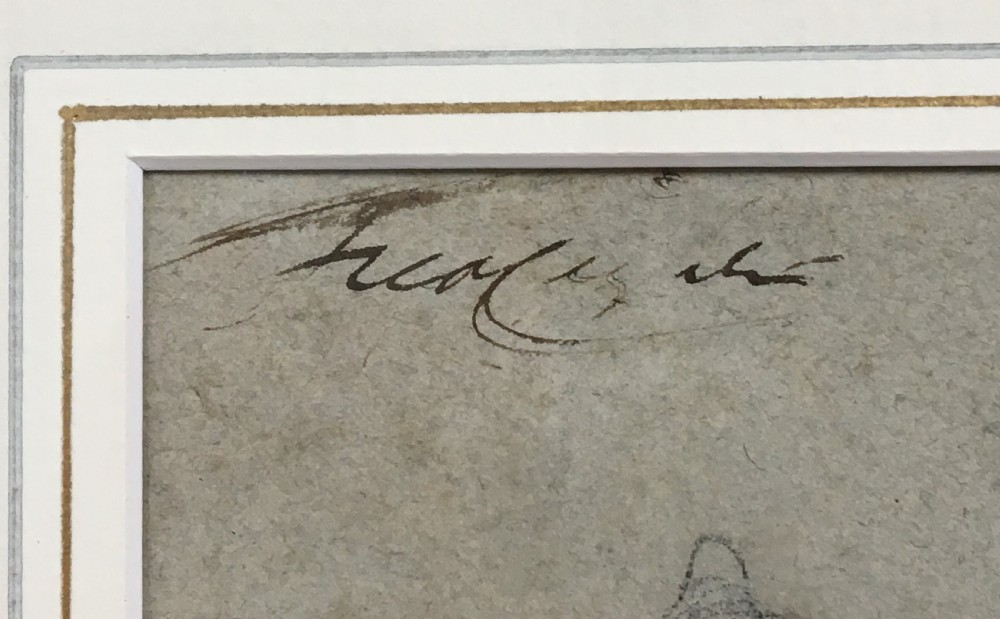 Sir Frederic Leighton (1830-1896) Reclining Nude - Sketch